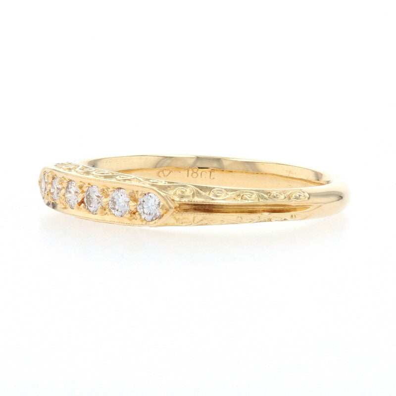 .15ctw Diamond Ring Yellow Gold