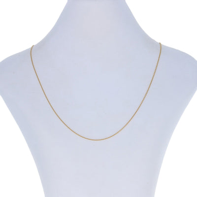 Cable Chain Necklace 19 3/4""