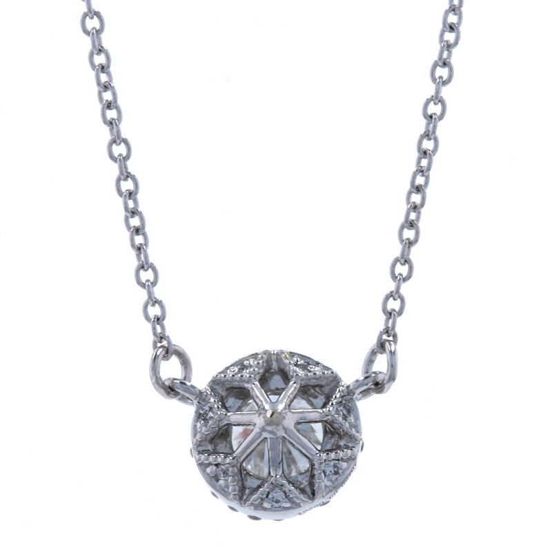 .37ctw Diamond Reversible Necklace White Gold