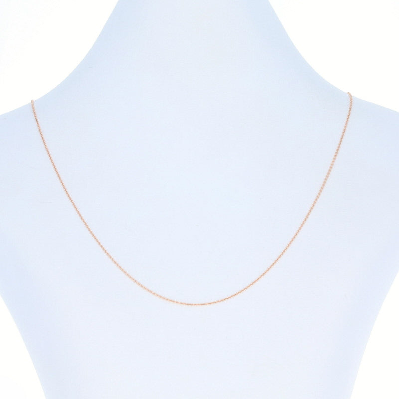Cable Chain Necklace Rose Gold