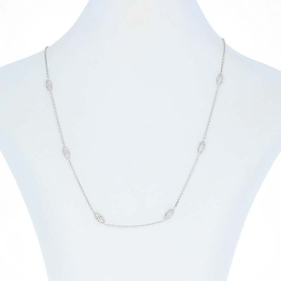 Diamond Necklace  .42ctw