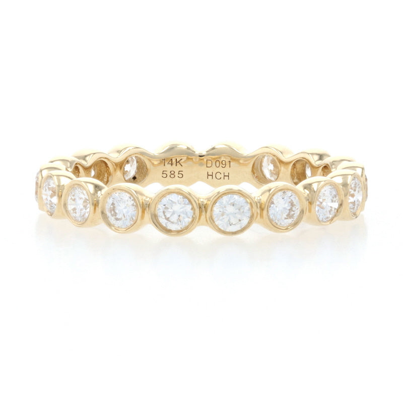 .91ctw Diamond Ring Yellow Gold