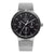 Obaku Dyb Onyx Men's Watch Steel Black Dial Multi-Function V220GMCBMC