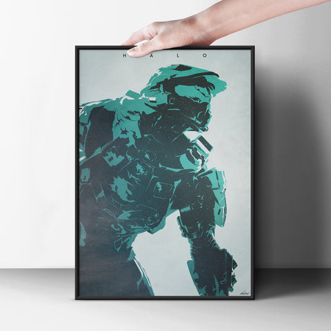Halo Poster - Hey Prints Designer Posters - 2