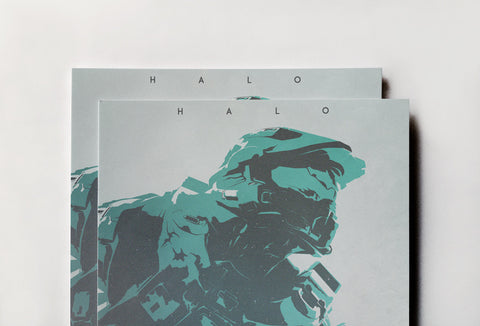 Halo Poster - Hey Prints Designer Posters - 4