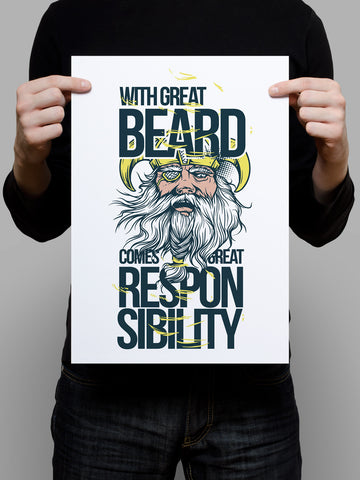 Beards witness Poster - Hey Prints Designer Posters - 4