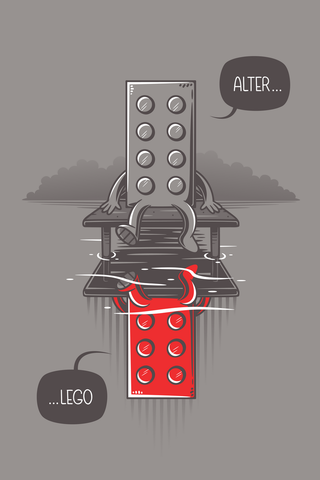 Alter Lego Poster - Hey Prints Designer Posters - 1