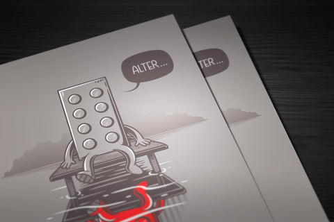 Alter Lego Poster - Hey Prints Designer Posters - 6