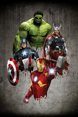 The Avengers Poster - Hey Prints Designer Posters - 1