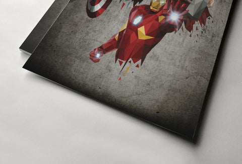 The Avengers Poster - Hey Prints Designer Posters - 5