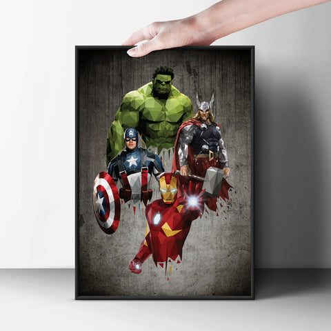 The Avengers Poster - Hey Prints Designer Posters - 6