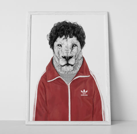 Gym Lion Poster - Hey Prints Designer Posters - 6