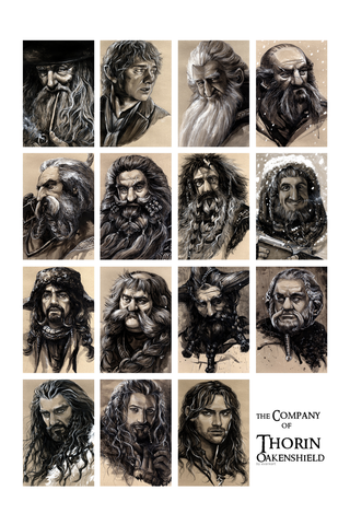 The Company of Greatness Poster - Hey Prints Designer Posters - 1