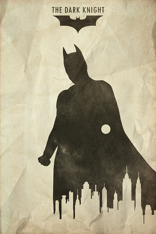 The Dark Knight Poster - Hey Prints Designer Posters - 1