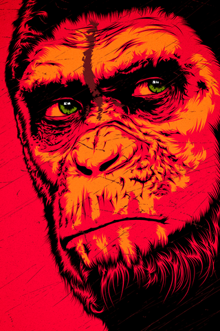 Ape Emotion Poster - Hey Prints Designer Posters - 1