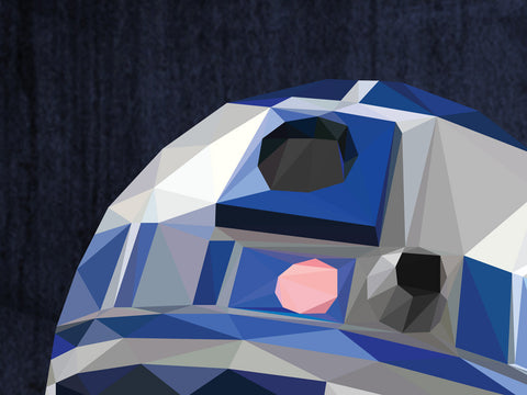 Favorite Droid Poster - Hey Prints Designer Posters - 2