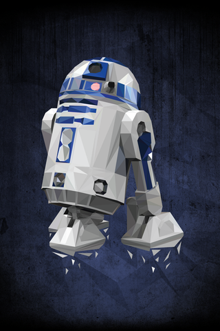 Favorite Droid Poster - Hey Prints Designer Posters - 1