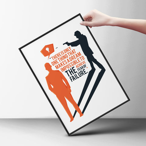 No to Fear Poster - Hey Prints Designer Posters - 7