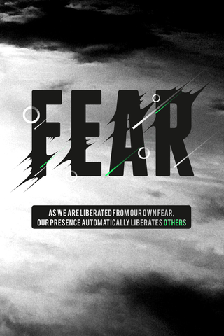 Liberates Your Fear Poster - Hey Prints Designer Posters - 1