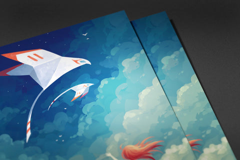Fly By Poster - Hey Prints Designer Posters - 5