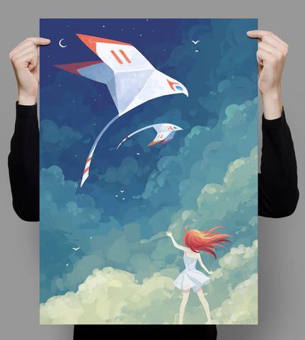 Fly By Poster - Hey Prints Designer Posters - 7