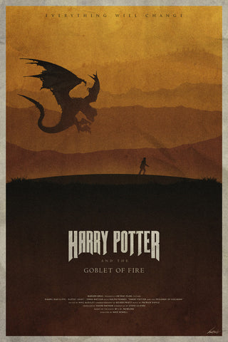 Goblet of Fire Poster - Hey Prints Designer Posters - 1