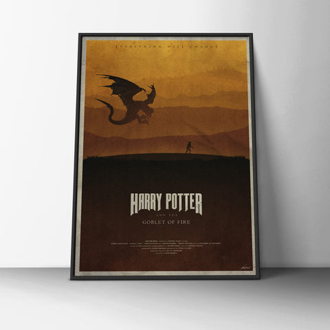 Goblet of Fire Poster - Hey Prints Designer Posters - 6