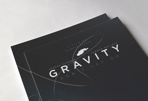 Gravity Poster - Hey Prints Designer Posters - 6