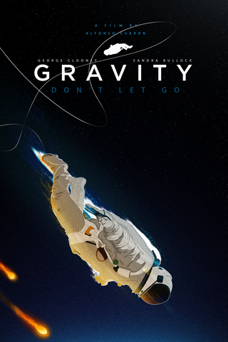 Gravity Poster - Hey Prints Designer Posters - 1