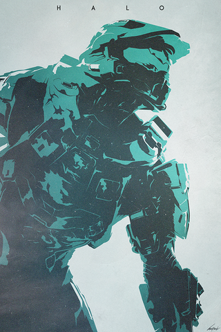 Halo Poster - Hey Prints Designer Posters - 1