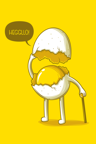 Heggllo Poster - Hey Prints Designer Posters - 1