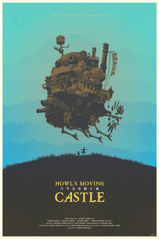 Howls Moving Castle Poster - Hey Prints Designer Posters - 1
