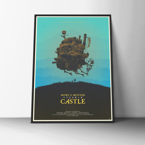 Howls Moving Castle Poster - Hey Prints Designer Posters - 6