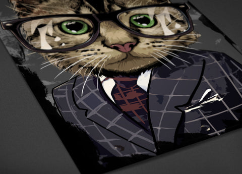 Professional Cat Poster - Hey Prints Designer Posters - 4