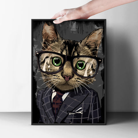 Professional Cat Poster - Hey Prints Designer Posters - 7