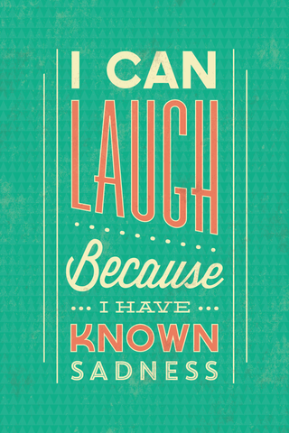 Laugh Baby Laugh Poster - Hey Prints Designer Posters - 1