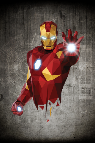 Iron Man Poster - Hey Prints Designer Posters - 1