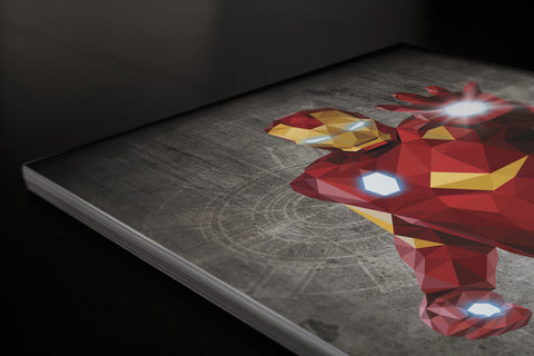 Iron Man Poster - Hey Prints Designer Posters - 4