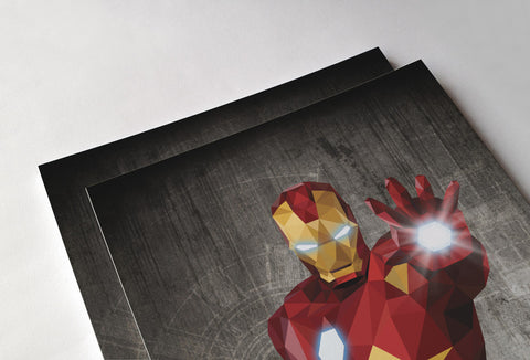 Iron Man Poster - Hey Prints Designer Posters - 2