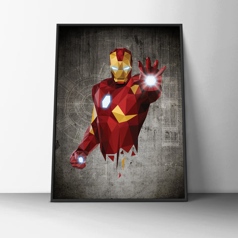 Iron Man Poster - Hey Prints Designer Posters - 7