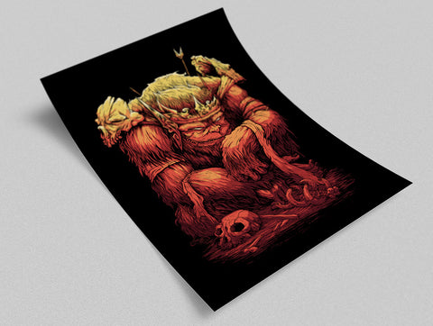 King Ape Poster - Hey Prints Designer Posters - 6