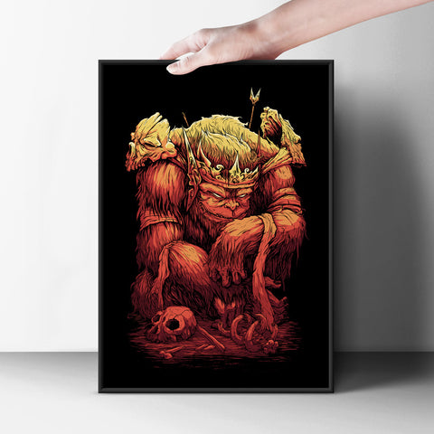 King Ape Poster - Hey Prints Designer Posters - 7