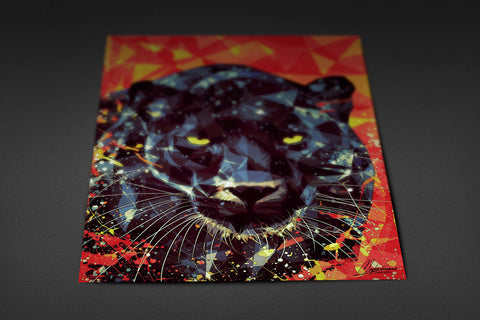 Golden Eyes of Panther Poster - Hey Prints Designer Posters - 7