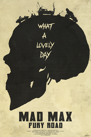 Mad Max Poster - Hey Prints Designer Posters - 1
