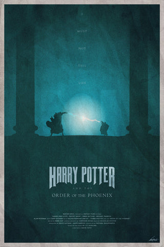 Order of the Phoenix Poster - Hey Prints Designer Posters - 1