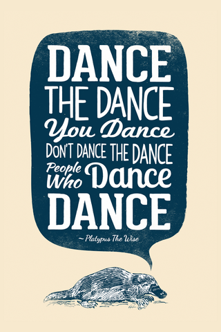Let's Dance Poster - Hey Prints Designer Posters - 1
