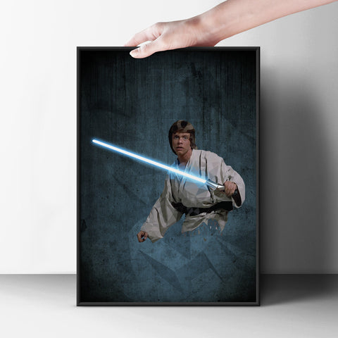 Saber Up Poster - Hey Prints Designer Posters - 6