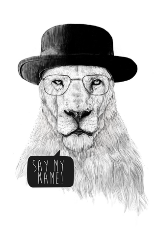 Say My Name Poster - Hey Prints Designer Posters - 1