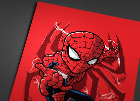 Go Up Spidey Poster - Hey Prints Designer Posters - 3