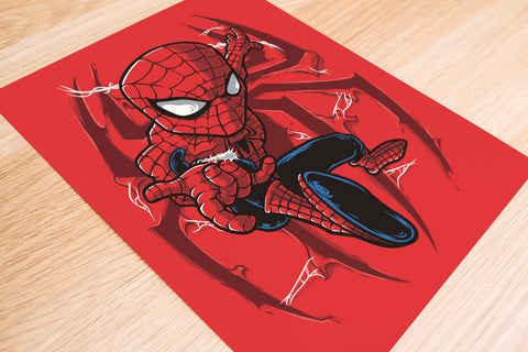 Go Up Spidey Poster - Hey Prints Designer Posters - 6